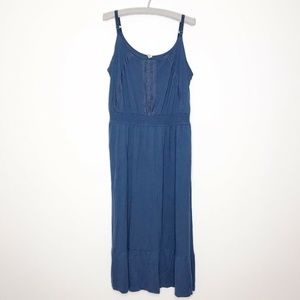 Old Navy Sleeveless Blue Maxi Dress Size XXL